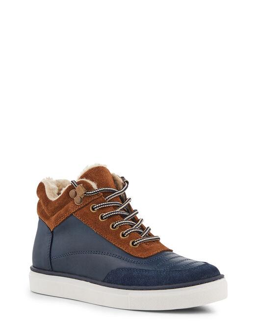Boots - Andorre, MARINE COGNAC