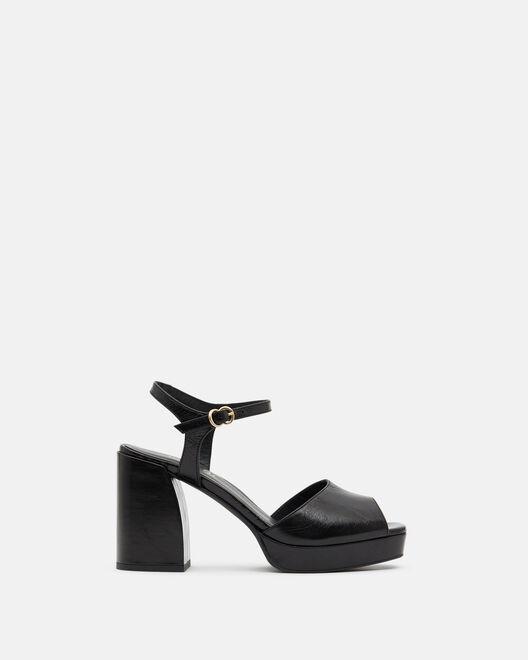 Sandale à talon - Theddie, NOIR