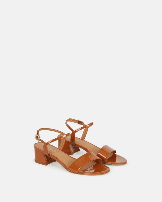 Sandale à talon - Neslie, CUIR