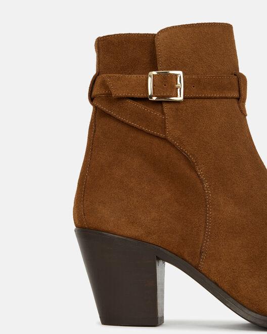 Boots - Tesmine, CUIR