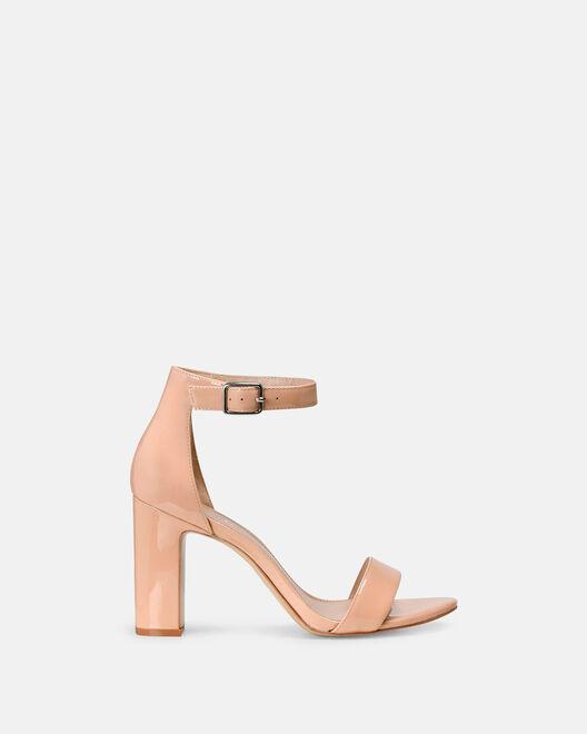 Sandale à talon - Clelie, POUDRE