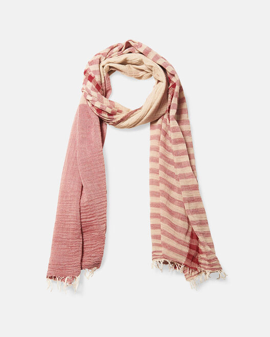 Foulard - Ory, ROUGE MULTICOLORE