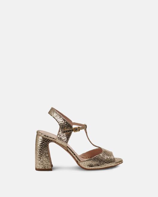 Sandale à talon - Chimhla, PLATINE