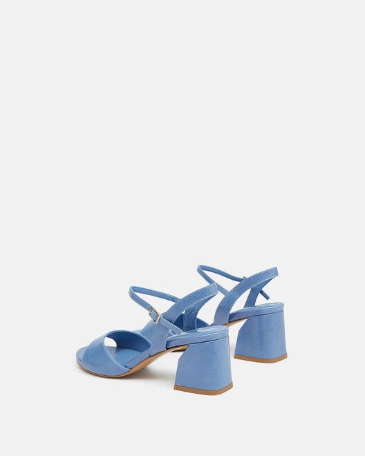 Sandale à talon - Teddye, BLEU