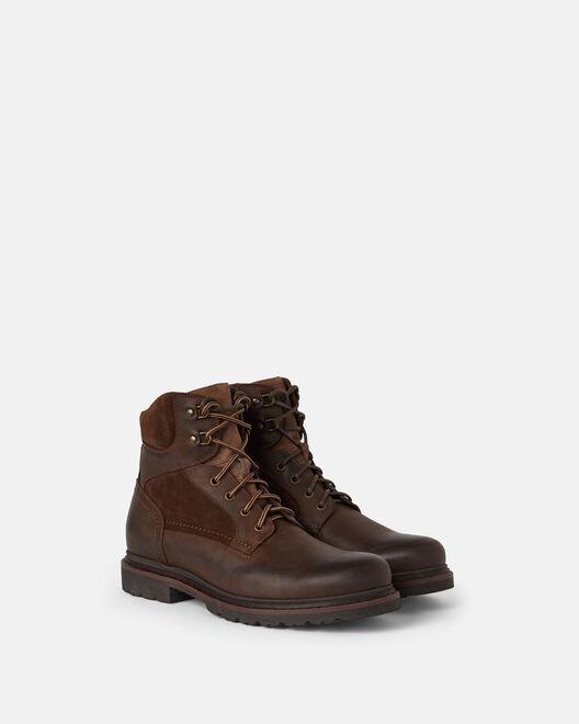 Boots - Francois, MARRON