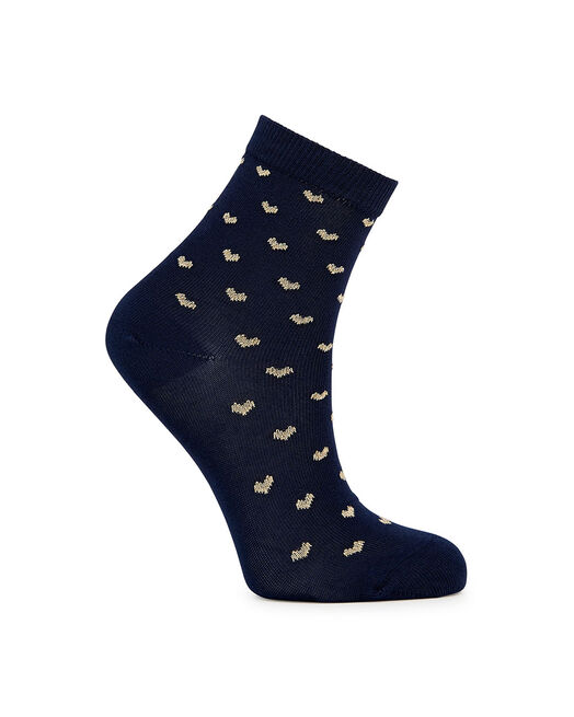 Chaussettes - Chouette, MARINE OR
