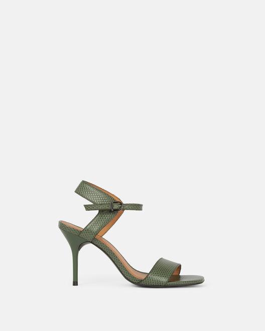 Sandale à talon - Chirly, KAKI