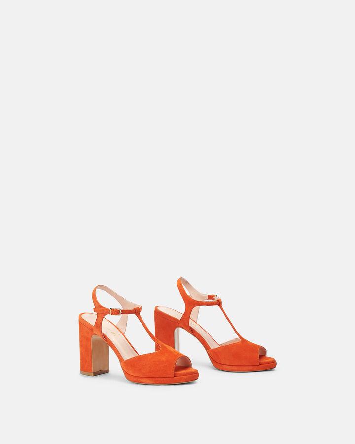 Sandale à talon - Bet, ORANGE