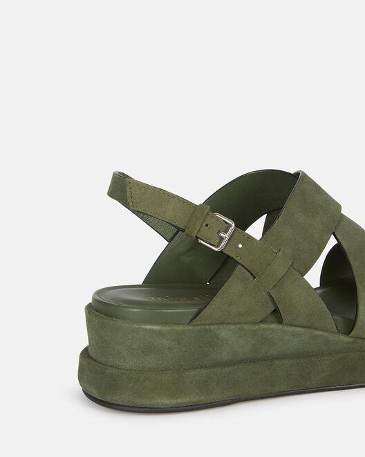 Sandale plate - Venke, KAKI