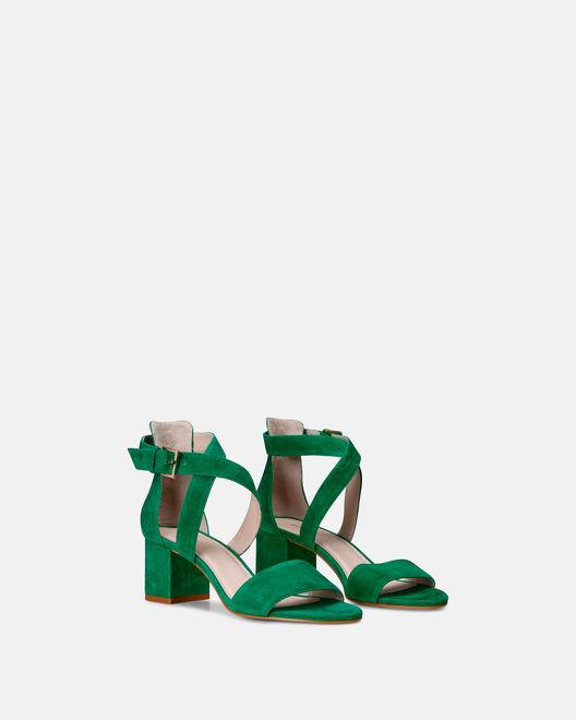 Sandale à talon - Cybil, VERT