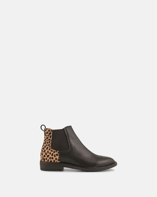 Boots - Hanaelle, NOIR LÉOPARD