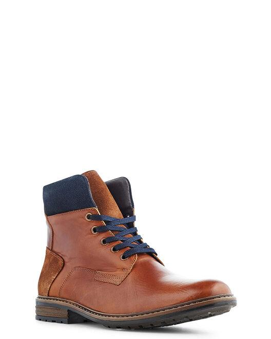 Boots - Leho, COGNAC
