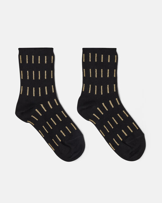 Chaussettes -  Hebe, NOIR OR