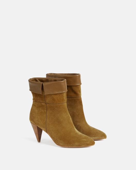 Boots - Teliha, TABAC