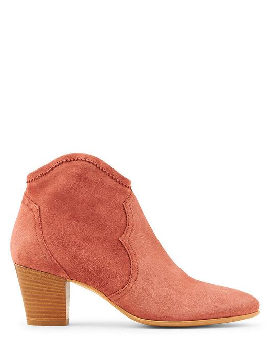 Boots - Kolya, VIEUX ROSE