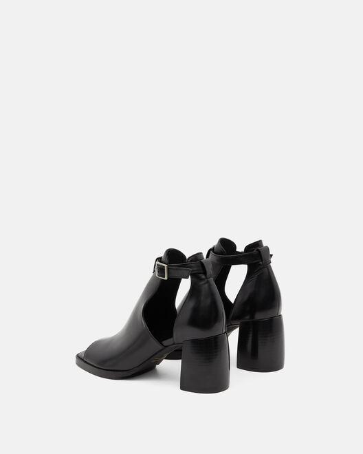 Sandale à talon - Tremance, NOIR