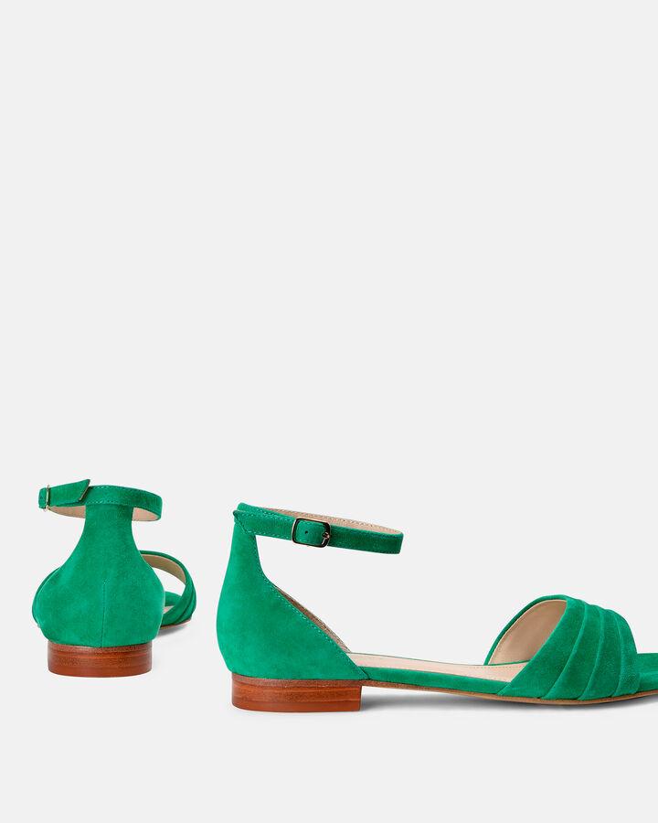 Sandale plate - Molika, VERT