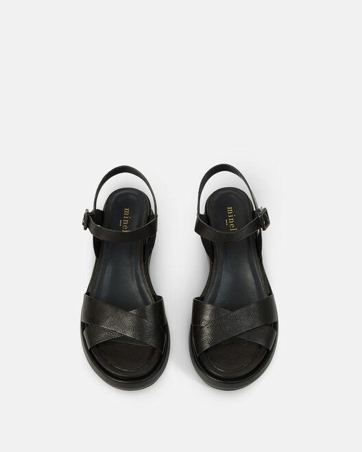 Sandale plate - Nelha, NOIR