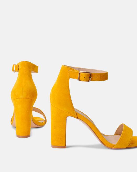 Sandale à talon - Beinta, JAUNE