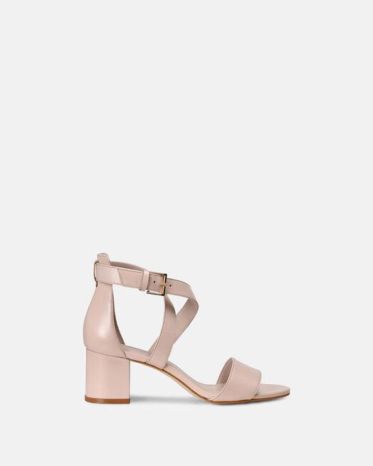 Sandale à talon - Laureen, POUDRE
