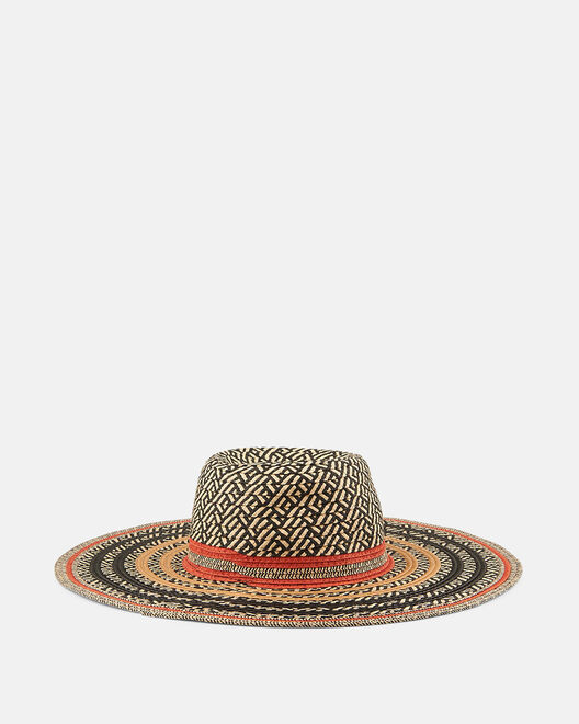 Chapeau - Glory, NOIR ORANGE