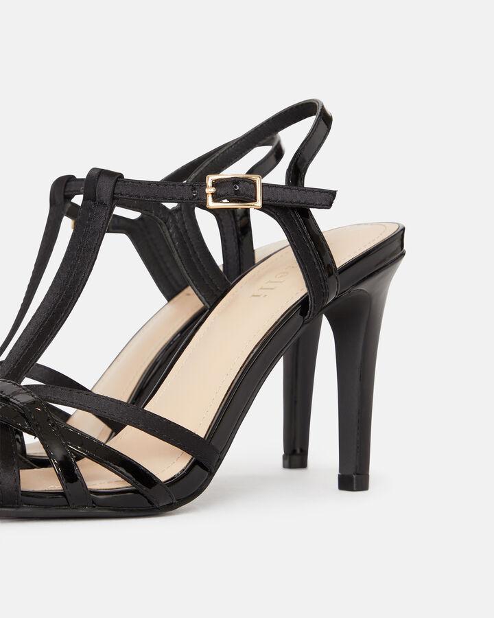 Sandale à talon - Ghita, NOIR