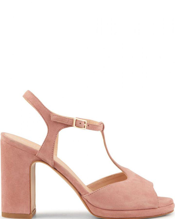 Sandale à talon - Bet, BLUSH