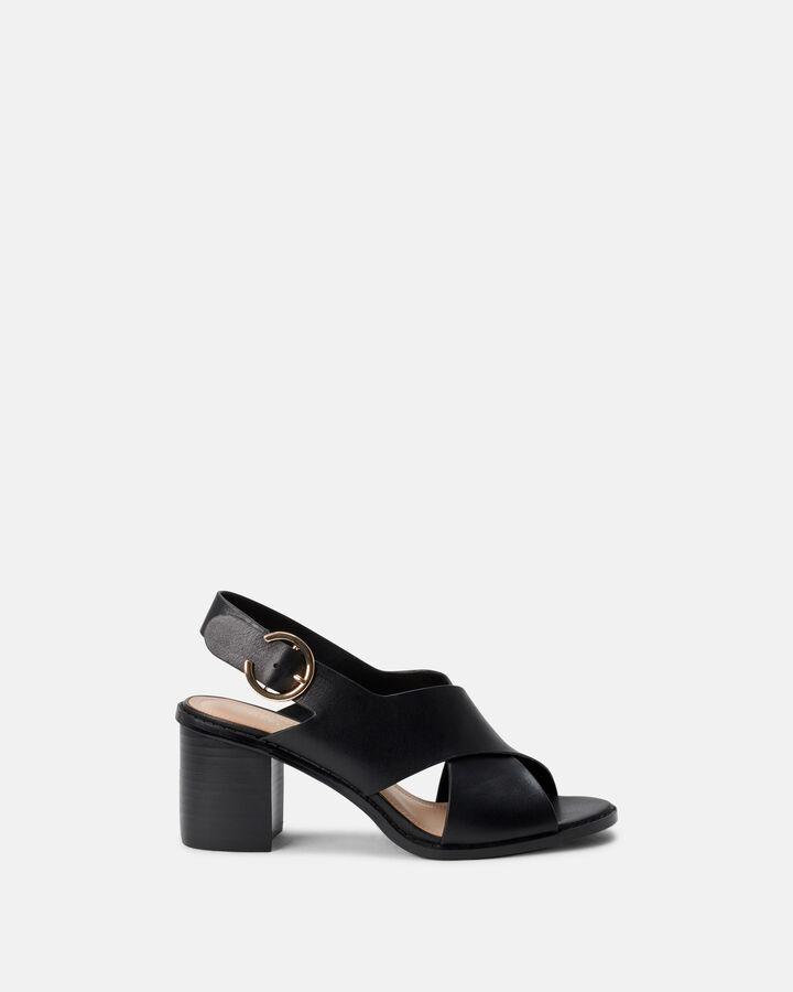 Sandale à talon - Cylial, NOIR