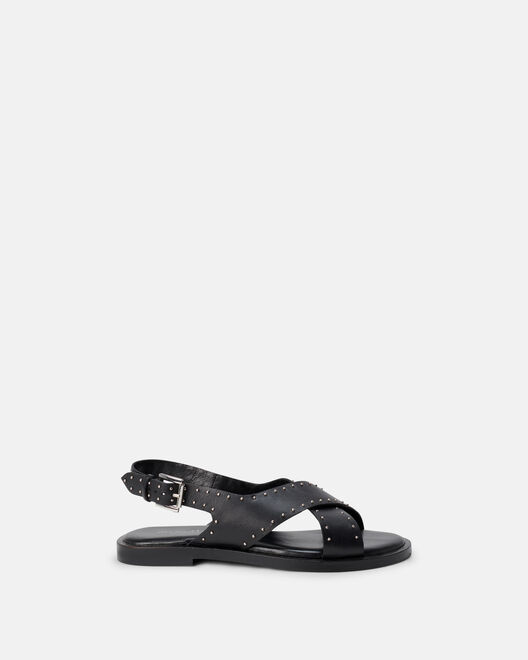 Sandale plate - Mirrai, NOIR
