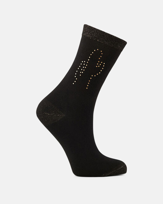 Chaussettes - Ciana, NOIR OR