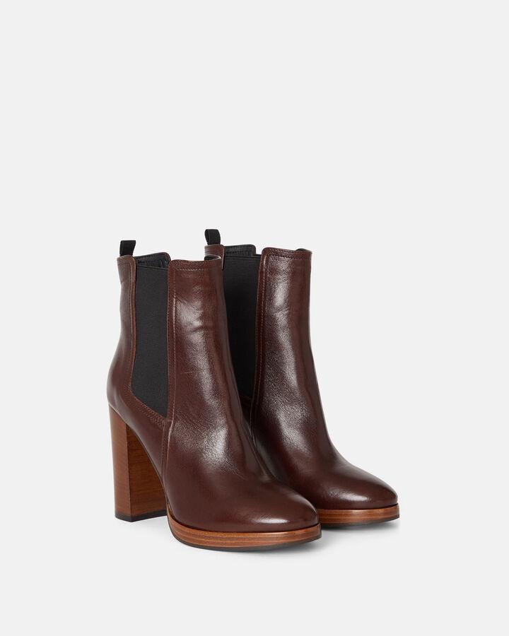 Boots - Tehila, CHOCOLAT