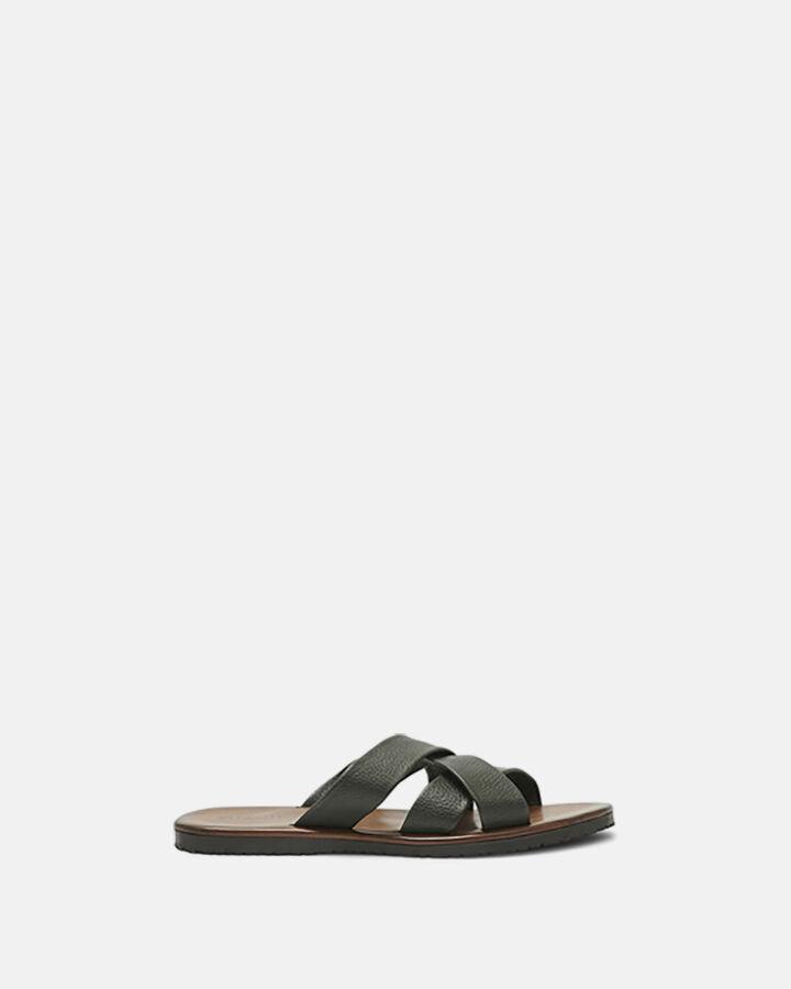 Sandale à talon - Xander, KAKI