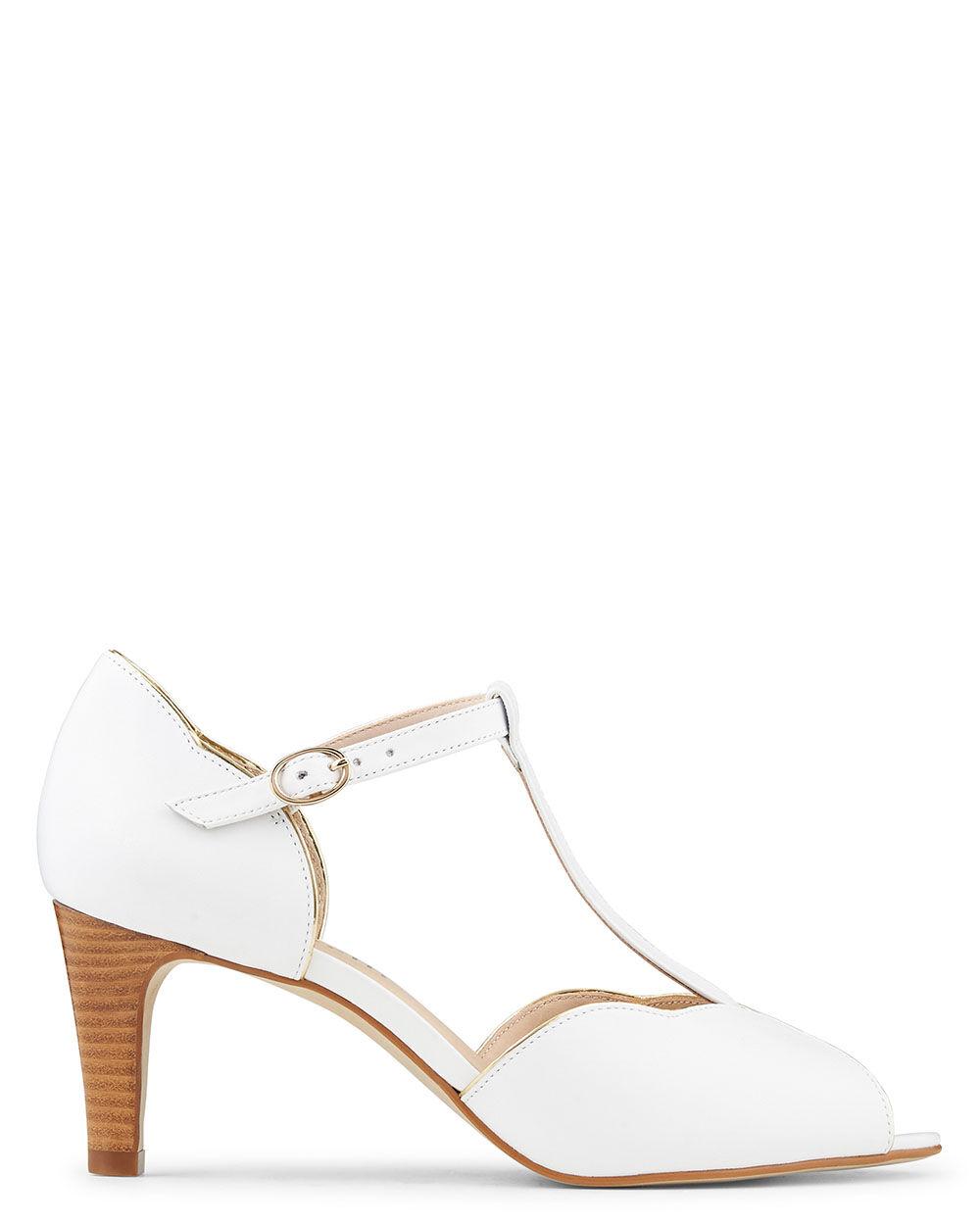 Pearl Talon Chaussures Sandale À Chevre Cuir LSGqVzMUp