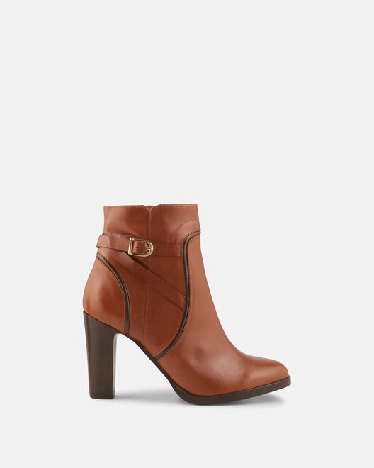 Boots - Plumie, CUIR