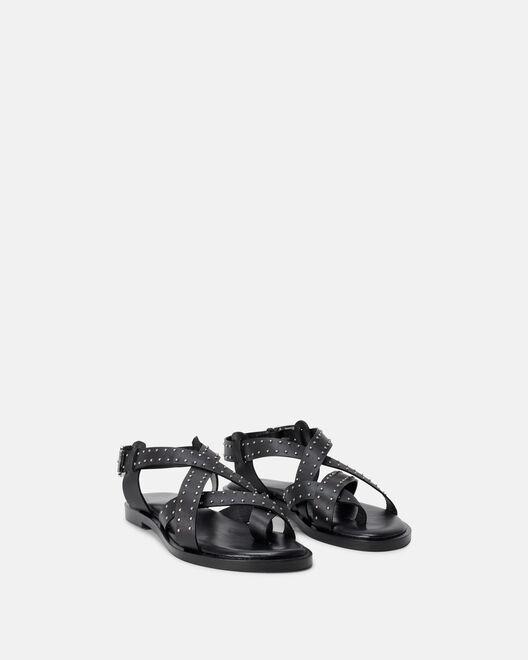 Sandale plate - Mae, NOIR