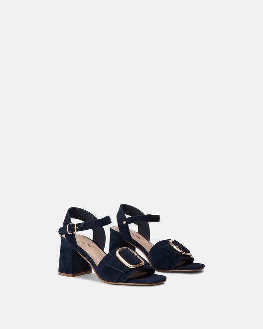 Sandale à talon - Cesarine, MARINE