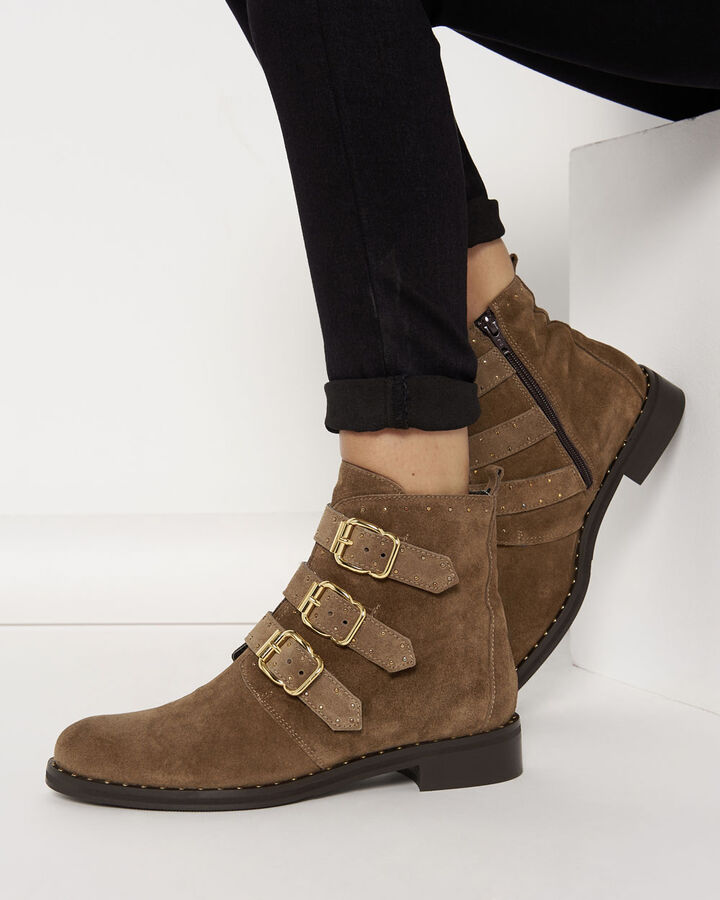 Boots - Danie, TAUPE