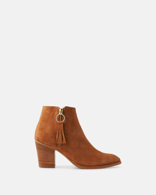 Boots - Kei, CUIR