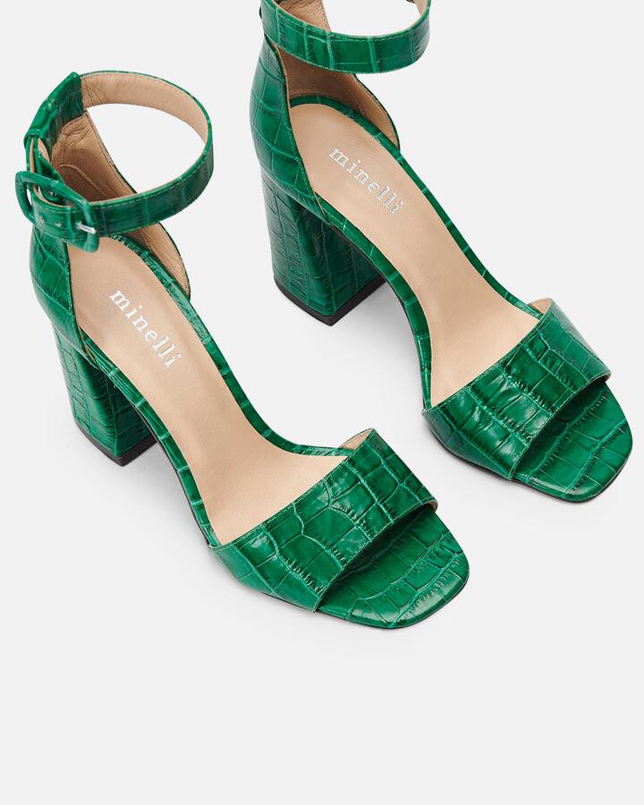 Sandale à talon - Citlali, VERT