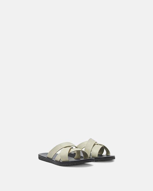 Sandale à talon - Xander, ECRU