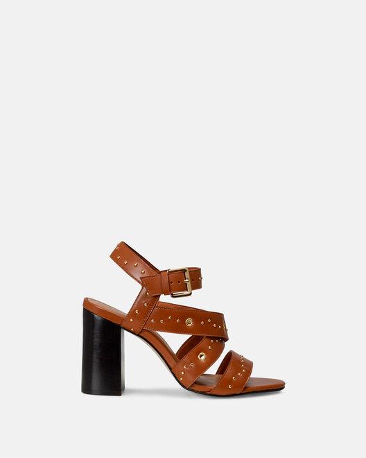 Sandale à talon - Celma, CUIR