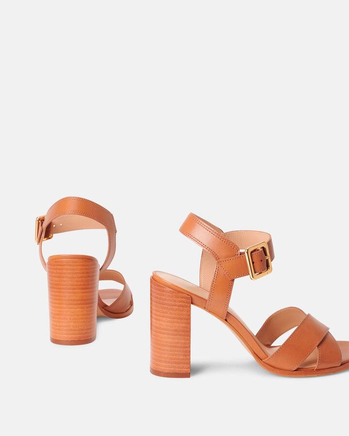 Sandale à talon - Benilda, CUIR