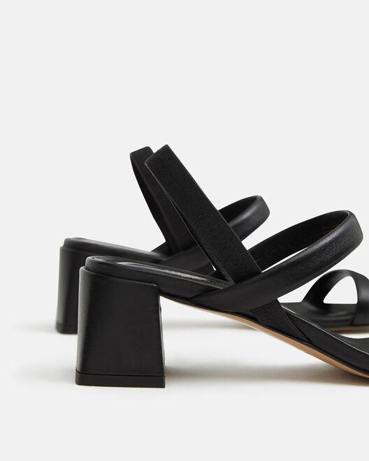 Sandale à talon - Teilye, NOIR