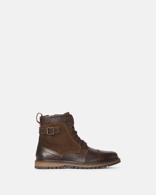 Boots - Frank, MARRON