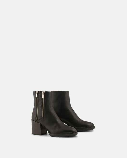 Boots - Pepita, NOIR