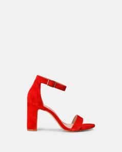 Sandale à talon - Beinta, ROUGE