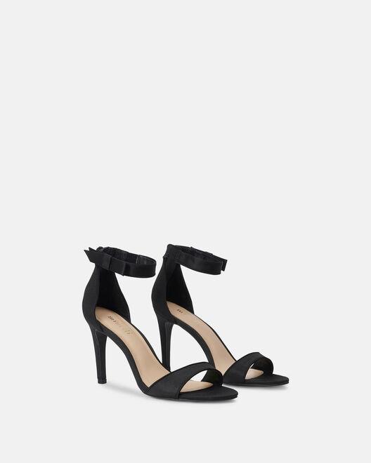 Sandale à talon - Cesira, NOIR