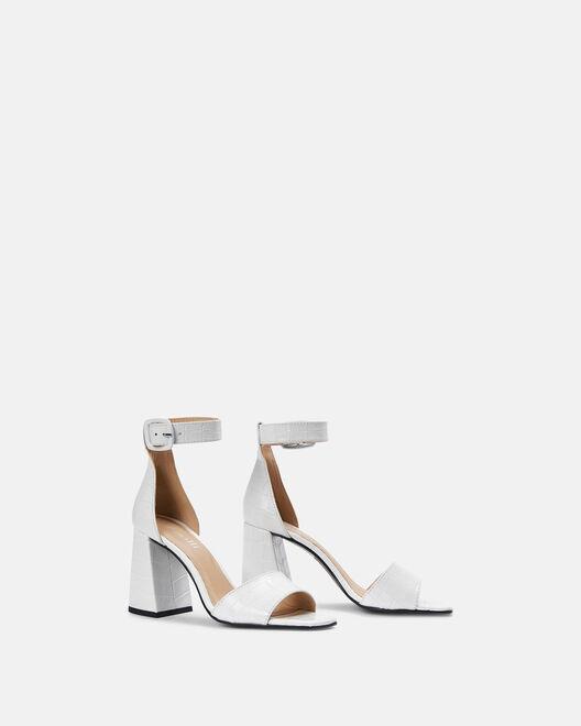 Sandale à talon - Citlali, BLANC