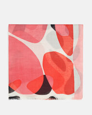 Foulard - Bertinne, ROSE ROUGE