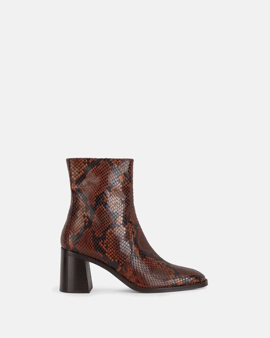 Boots - Laelia, MARRON
